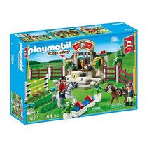 5224 Playmobil Country Competição E Show De Hipismo