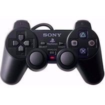 Kit Com 6 Controles De Ps2 Play 2 Sony Original