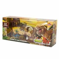 Dinossauro Tirano Rex Grande Com Som + Nf - Oferta!