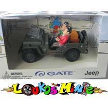 Gate Jeep Willys Militar O Gordo E O Magro Esc. 1:32 Lacrado