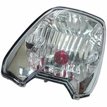 Lanterna Traseira [metalizada - Lente Lisa] Honda Fan 125 -