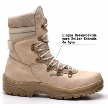 Coturno Masculino Bota Tático Militar Americana Desert