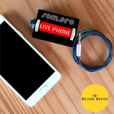 Placa De Som Para Celular Live Phone