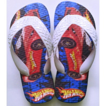 Sandália Chinelo Hot Wheels Personalizado