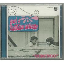 Cd-gal E Caetano-domingo/1967-ed.2012-remasterizado-lacrado.