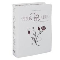 Bíblia Da Mulher Com Indice Branca Bíblia Sagrada Evangélica