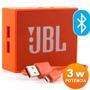 Caixa De Som Recarregável - 3w Rms Bluetooth - Jbl