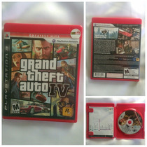 Jogos Ps3 - Gta 4 - Grand Theft Auto Iv Com Mapa