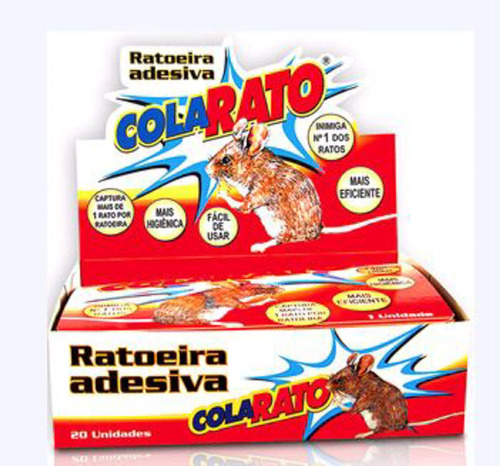 Ratoeira Adesiva Cola Rato - American Pets