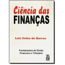Ciência Das Finanças: Direito Financeiro