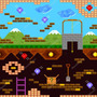 Papel De Parede Adesivo Video Game Retro 3m