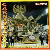Cd - Carnaval 2004 - Sambas Enredo De São Paulo - Lacrado