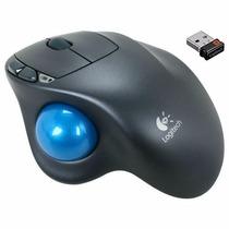 Mouse Logitech Trackball M570 Wireless Laser Usb - Original