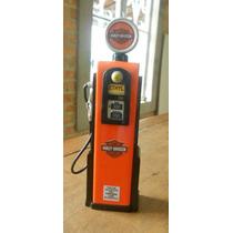 Miniatura Bomba De Gasolina Harley-davidson - Escala 1:13