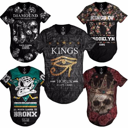 Comprar Camiseta Camisa Blusa Longline Oversized Swag Masculina Moda -  Apenas R  46 36071251e85