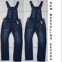 Macacão Jardineira Masculina Jeans 2015
