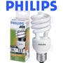 12 Lâmpadas Philips Eletrônica Espiral 20w Amarela 127v