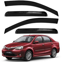 Calha Defletor De Chuva Toyota Etios Sedan