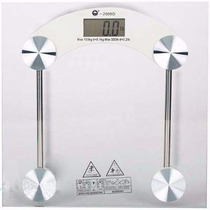 Balança Digital Banheiro Academia Vidro Temperado 180 Kg
