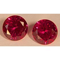 Rsp 2472 Rubi Sangue De Pombo 10mm Preço Por Pedra 4,37 Ct