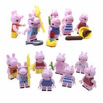 Peppa Pig Topo De Bolo Kit Festa Infantil Decoração Enfeites