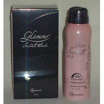 Glamour Secrets Black + Desodorante Aerosol - Boticário
