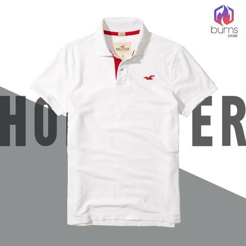 Camisa Polo Hollister Original Camisas Gola Polo Originais - R  144 ... 0271e05376918