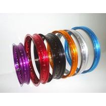 Aro Aluminio Three Heades 18x215+18x185 Cores Titan Ybr