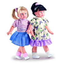 Boneca Fashion Com Cabelo Loiro 303 - Milk Brinquedos