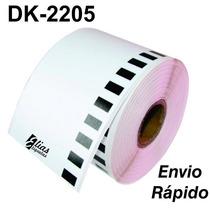 1 Rolo Dk 2205  Etiqueta Compatível Dk2205 + Envio Rápido