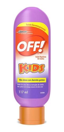 Loção Repelente De Insetos Kids 117ml - Off!