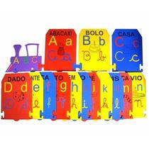 Alfabeto Ilustrado De Parede Jogos Educativos Carlu Cb 0195