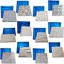 Kit 16 Formas De Plástico C/borracha Gesso 3d Digitalartrio