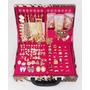 Atacado Kit 150 Pçs Semi-jóias Folheadas + Linda Maleta