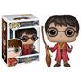Harry Potter - Quidditch Harry Boneco Pop Vinil Funko 10cms