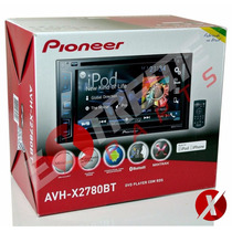 Dvd Player Pioneer Avh-x 2780 Bt Linha 2015 Pronta Entrega !
