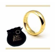 Anel - Sr Dos Anéis Tungstênio Banhado A Ouro (frete Grátis)