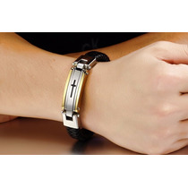 Bracelete Pulseira Masculino Inox 316l