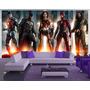 Papel De Parede Liga Da Justiça Filme Justice League M² Jl01