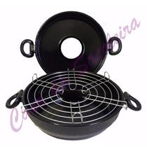 Churrasqueira E Assadeira Para Fogão Esmaltada Multi Grill