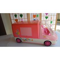 Furgão/trailler Da Barbie Mattel Anos 90