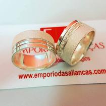 Busca Aliança de prata largas com os melhores preços do Brasil ... 84f6ca839e