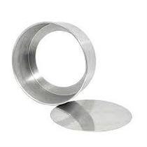 Forma Redonda Fundo Falso 18x5cm Aluminio