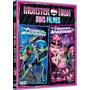 Dvd Monster High Choque De Cultura/ilha Do Esqueleto Lacrado