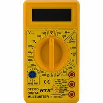 Multímetro Digital Com Cabo De Multiteste Testador Dt 830