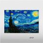 Poster 90x60 Gravura P/ Quadro - A Noite Estrelada Van Gogh