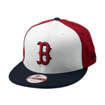 Boné New Era Snapback Boston Red Sox The Rotator - Mlb