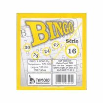 Bloco P/ Bingo Amarelo 100 Fls Emb 15 Unid Tamoio