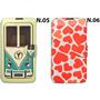 Case Flip Cover Celular Lg L Prime D337 + Pelicula De Vidro