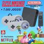 Super Game Box   Video Game Retro C 7000 Jogos Antigos 64gb
